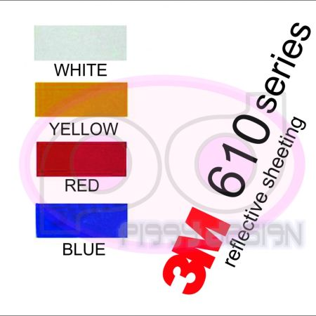 Color Chart 3M REFLECTIVE 3m reflective