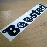 JDM Style Sticker boosted 2nd