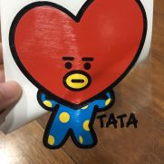 Biker Decal TATA