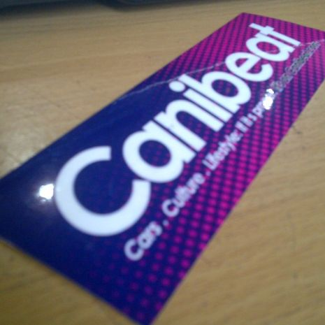 JDM Style Sticker canibeat culture  canibeat culture 15x5cm 8rb