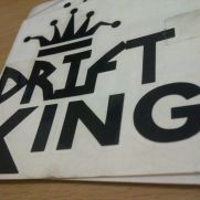 JDM Style Sticker drift king 2nd