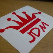 JDM Style Sticker king of jdm