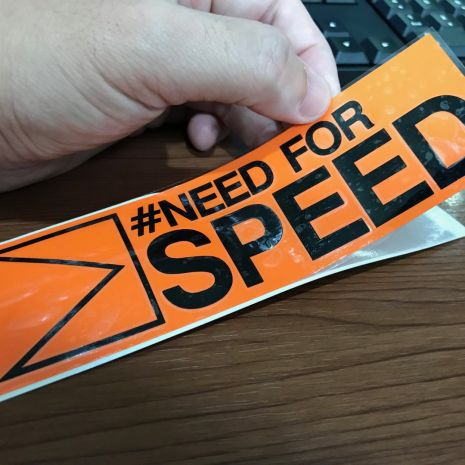 JDM Style Sticker need for speed  need for speed 15x4 5cm