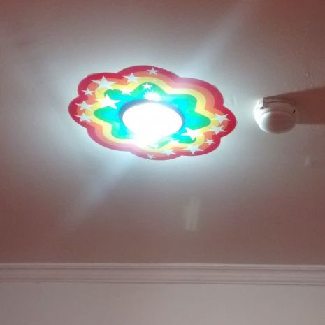 Decorative Sticker rainbow lamp  rainbow lamp 40x40cm 45rb