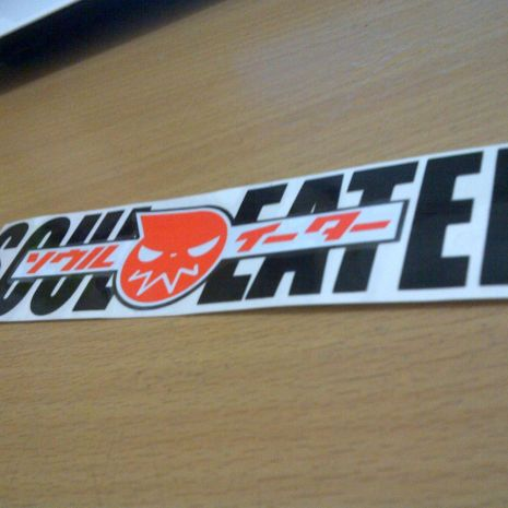 JDM Style Sticker soul eater  souleater 15x3cm 7rb