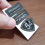 Biker Decal specialized label