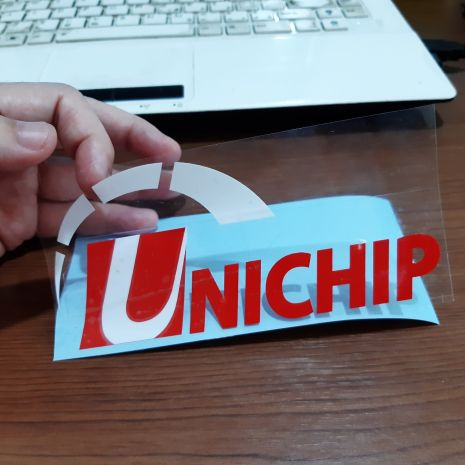JDM Style Sticker unichip new unichip new 15x7